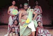 非洲酋长奢靡生活 妻妾4000余人