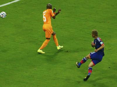 本田圭佑爆射得分 日本1比0领先科特迪瓦