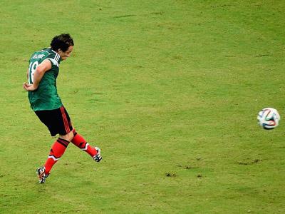 瓜尔达多推射破门 墨西哥再下一城2-0克罗地亚