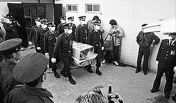 85年北海舰队鱼雷艇叛逃 两叛徒被韩国遣返后判死刑