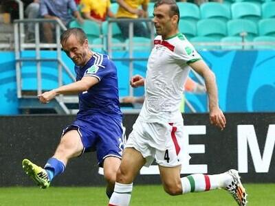 弗尔萨耶维奇破门 波黑3-1伊朗