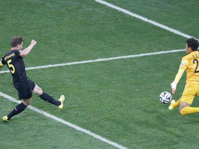 维尔通亨补射得手 比利时1-0韩国三战全胜