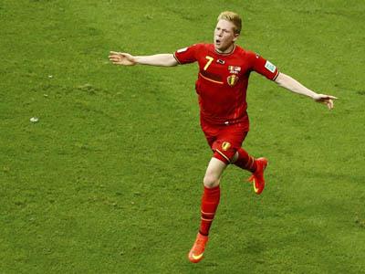 德布劳内转身抽射破门 比利时加时1-0领先美国