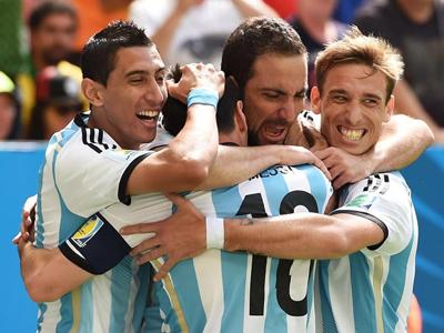 伊瓜因扫射破球荒 阿根廷1-0比利时