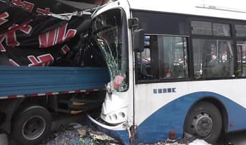 7月6日,上海一公交为躲避铲车与卡车追尾,撞死一行人