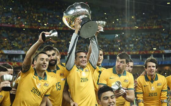澳大利亚首夺亚洲杯冠军