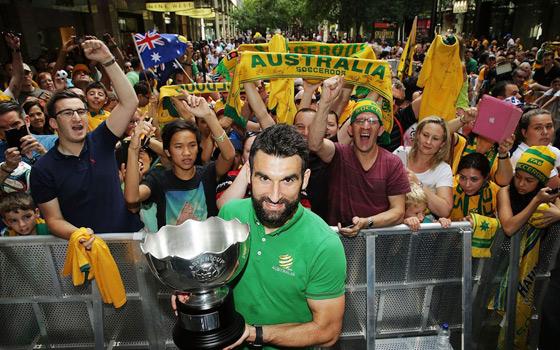 半决赛-澳大利亚2-0阿联酋