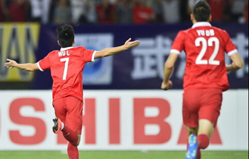 国足1-1日本