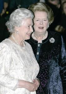 撒切尔夫人 82岁再做时尚模特