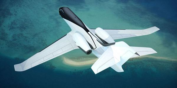 未来飞机概念图出炉 透明机身全景飞行不是梦