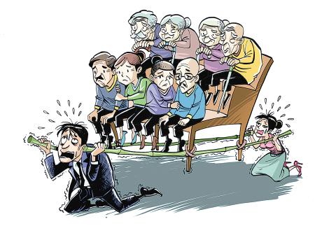 北京人口老龄化_人口老龄化 中国未来人口结构令人担忧