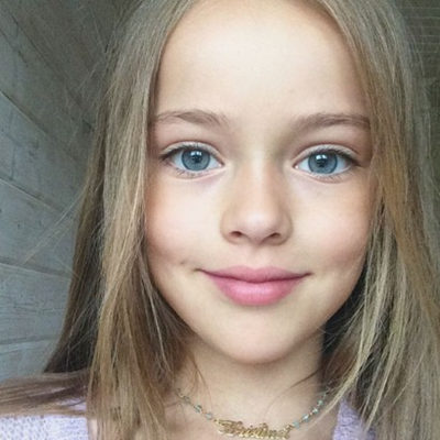 """号称""""世界最美女孩""""的俄罗斯籍少女模特"""