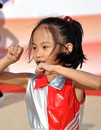 全国健身操舞大赛青岛开幕
