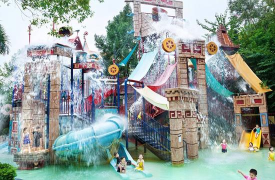 儿童水上欢乐堡