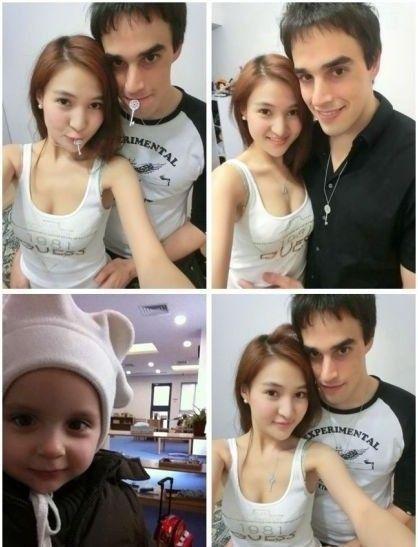 郭美美和男友合照。(资料图)