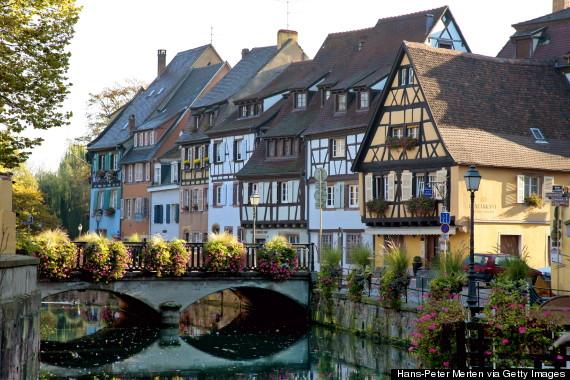 畅游童话小镇 走进法国小镇科尔马 图
