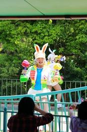 迪士尼乐园游戏互动