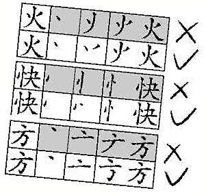 据称国家语委会对个别汉字笔顺进行调整