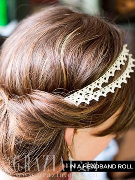 秋冬必修 发带的十三种超仙佩戴法
