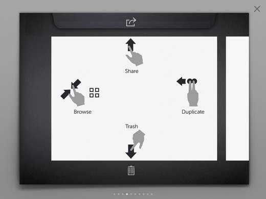 这时可以用手指拖动图画,完成各个区域的细节绘画.