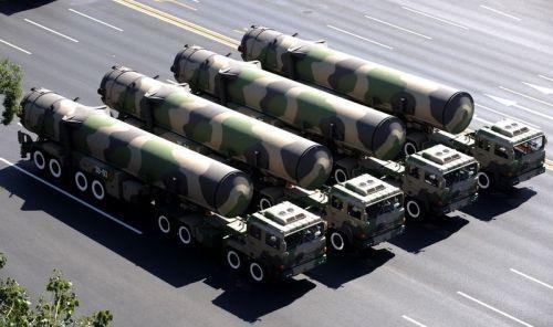 美媒:中国7月24日第三次试射东风-31A洲际导弹