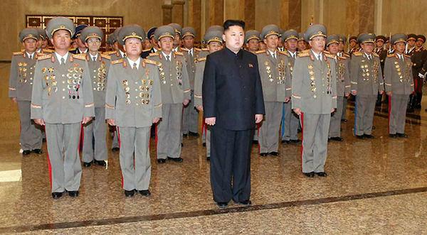 朝鲜崔龙海逮捕金正恩 图 朝鲜金正恩姑父的酷