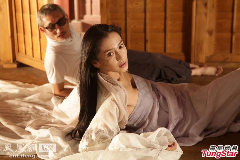 Angelababy演花魁徐克亲授床戏图 娱乐频道
