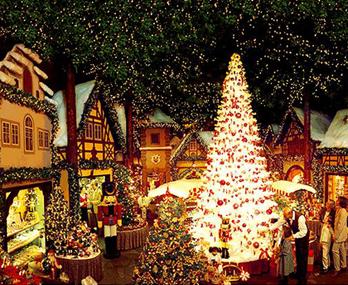 美国:不能错过的圣诞小镇