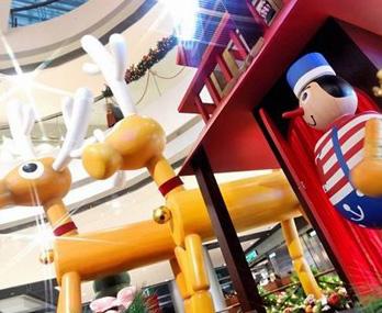 南京圣诞去哪儿玩 环球缤纷圣诞村