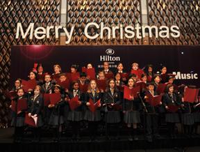 """希尔顿:冬季恋歌""""圣诞平安夜晚宴"""""""