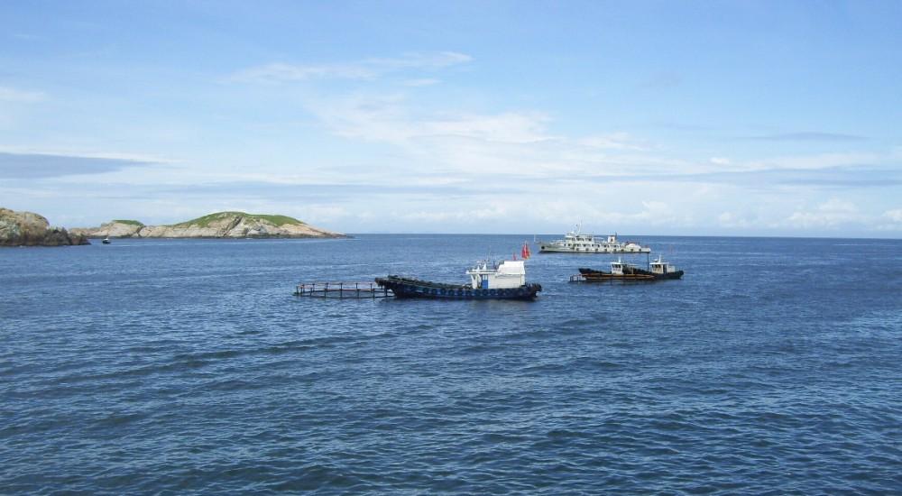 亚洲第一钓场 渔山列岛