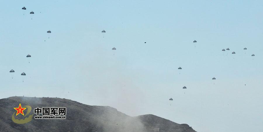 和平使命2012上合组织联合反恐军演完成实兵演习