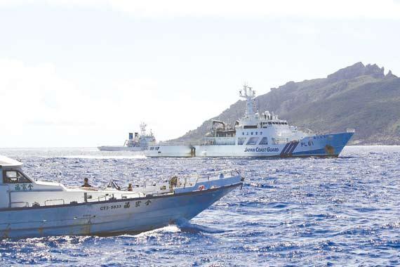 舰曾拦截过台湾保钓船.-一旦钓鱼岛海域有事 日本可快速驰援14艘图片