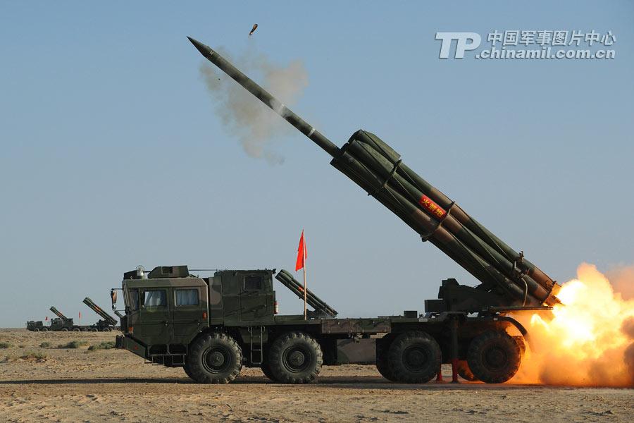 300毫米远程火箭炮_中国PHL03型300毫米远程火箭炮系统