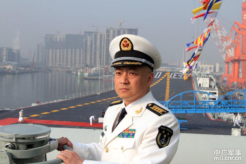 甲板直击:中国第一艘001型航空母舰正式交付海军(1/22) -  东方.旭 - 东方.旭的博客