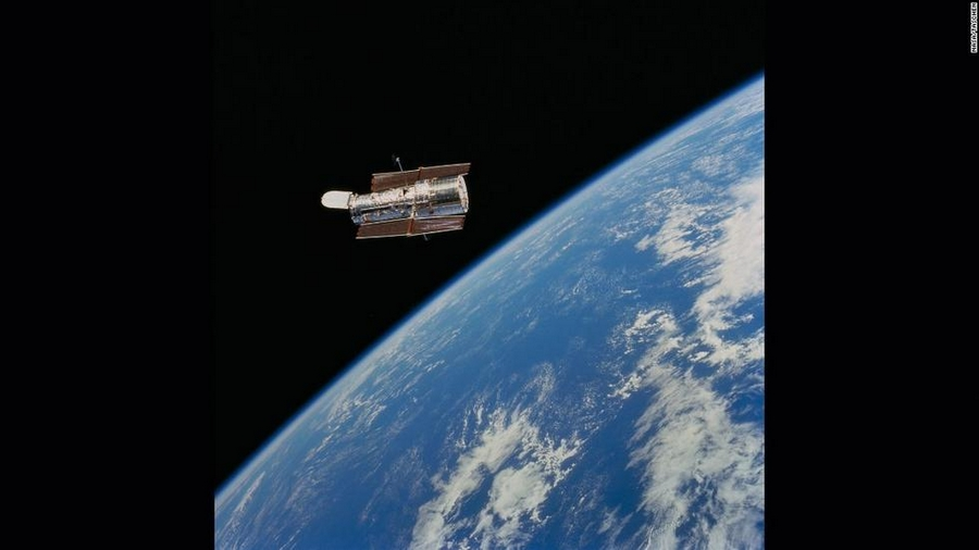 哈勃望远镜拍摄出的绚美太空