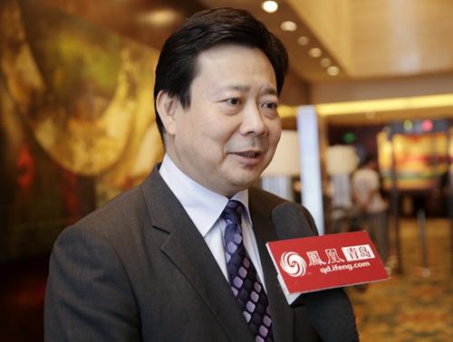 凤凰网青岛采访|李群:青岛的实践将为国家金改创新探索经验