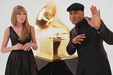第54届格莱美宣传片之小美女Taylor Swift和LL Cool J