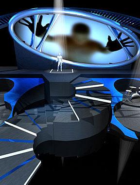 张杰上海个唱舞美图曝光 打造音乐DNA概念舞台