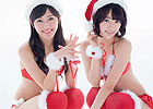 AKB48性感圣诞装写真