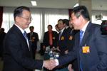 温家宝总理亲切接见全国政协委员、大唐西市公司董事长吕建中