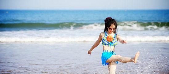 青岛黄岛金沙滩