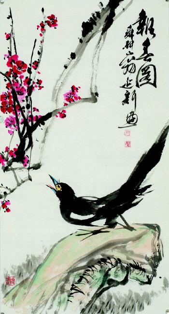 [提要] 辞旧迎新之际,我省著名画家史振峰,吴泽浩,刘克训,尹延新图片