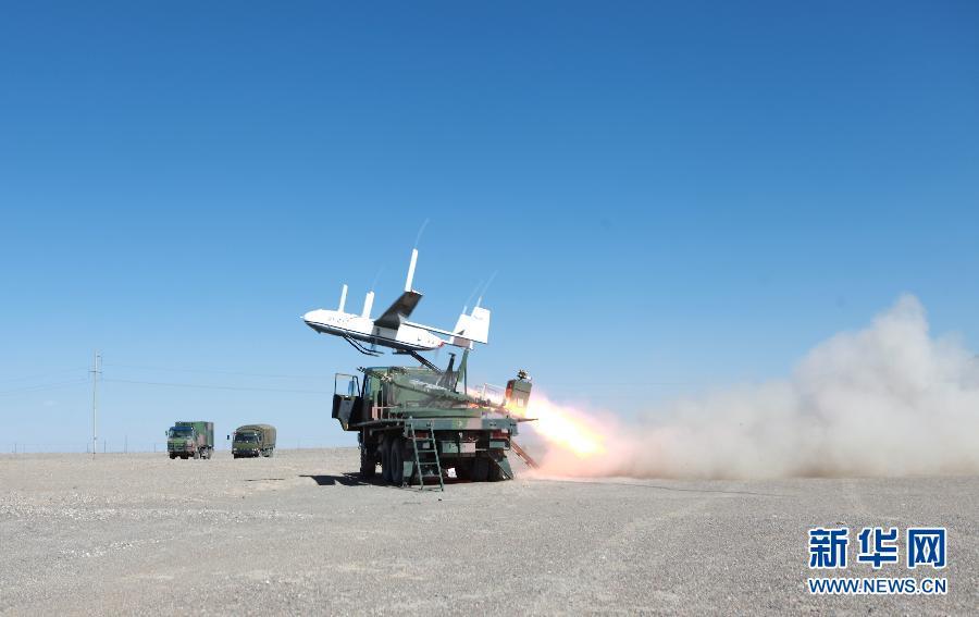 我军平原型无人机中继平台在高原首飞成功 (组图) -  东方.旭 - 东方.旭的博客
