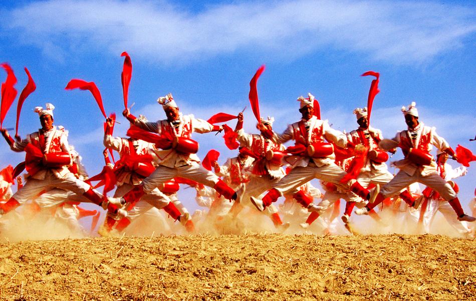 陕北风情图片