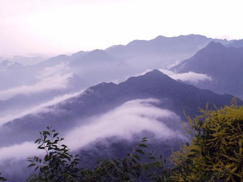 风景极为秀美的西安长安区南五台风景名胜区糖红可以美食做什么片图片