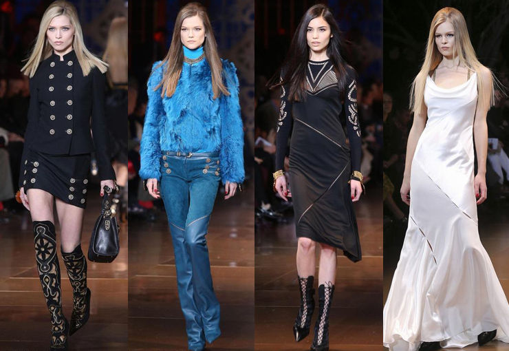 Versace 2014米兰秋冬发布