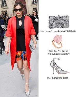 赵薇 in Dior