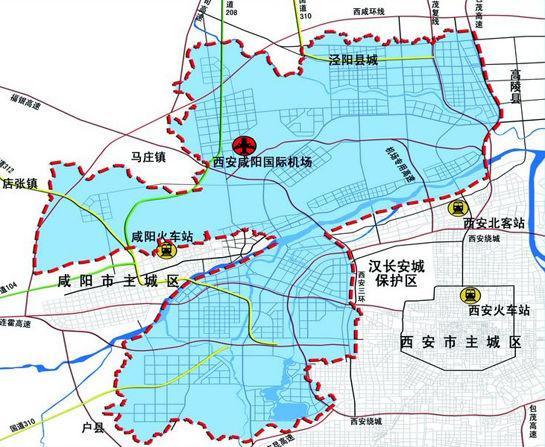 公主岭新区规划图