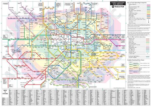 伦敦地铁线路图图片